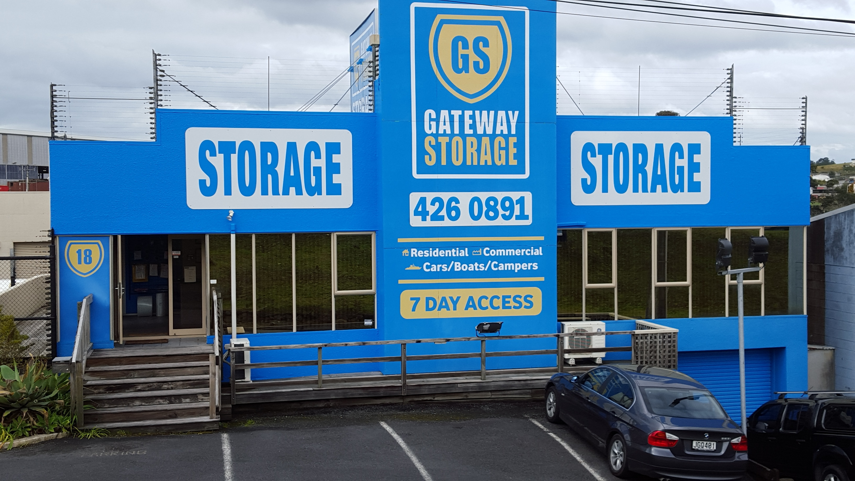 Self Storage Silverdale - Gateway Storage admin building